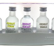 Absolut collection sada II 5×0,05l 40%